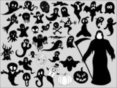 Funny Ghost Silhouettes
