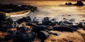 Stranded on Rocks