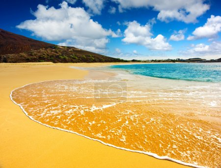 Photo for Amazing beach on a tropical island - Royalty Free Image
