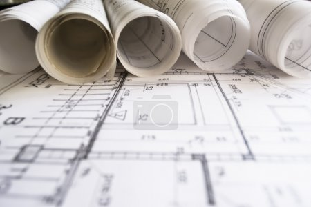 Architectural plan,technical project and constructions