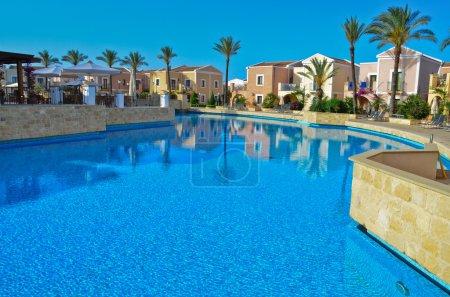 Mediterranean holiday resort