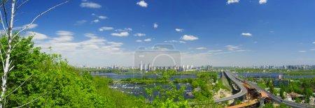 Panorama of Kiev city