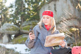 carte de navigation recherche femme active sac à dos