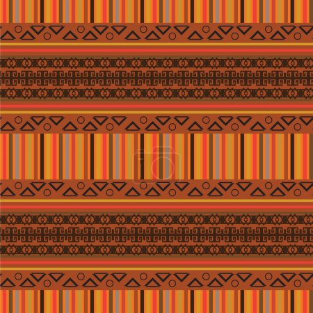 Africa stile ornament background