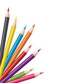 Vector colored pencils