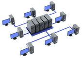 Servery s mnoha pc