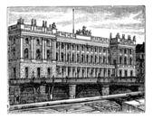 Berlin Stock Exchange vintage engraving 1890s