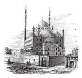Mosque of Muhammad Ali or Alabaster Mosque in the Citadel of Ca