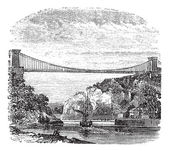 Clifton Suspension Bridge in Clifton Bristol to Leigh Woods N