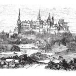 Wawel Castle or Royal Castle in Krakow, Poland, du...