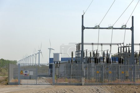 Wind turbine and electrical transformer