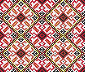 Ukrainian ethnic seamless ornament #46 vector