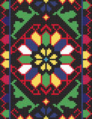 Ukrainian ethnic seamless ornament #66 vector