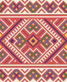 Ukrainian ethnic seamless ornament #65 vector