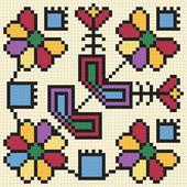 Ukrainian ethnic seamless ornament #67 vector