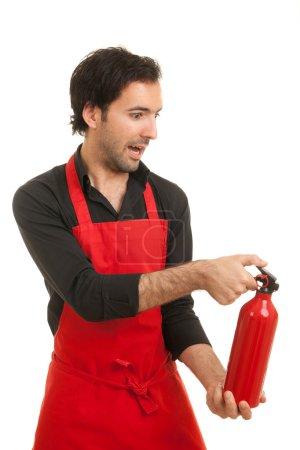 Chef fire extinguisher