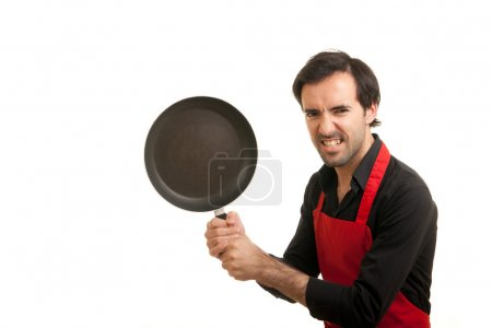 Crazy chef pan