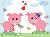 Dvě prasata v lásce