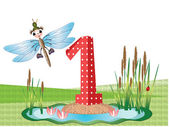 Insects and numbers series for kids 1