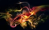 """Постер, картина, фотообои """"красочный дым"""""""