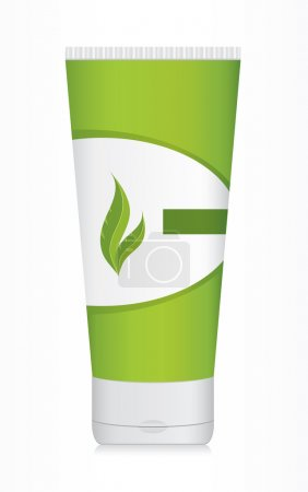 Plastic bottle for beauty product