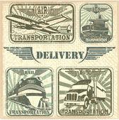 Transportation set stamp