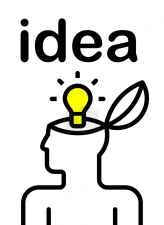 Idea pictogram