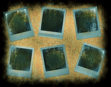 Instant photo frames