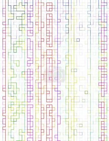 Foto de Arco iris líneas fondo geométrico - Imagen libre de derechos