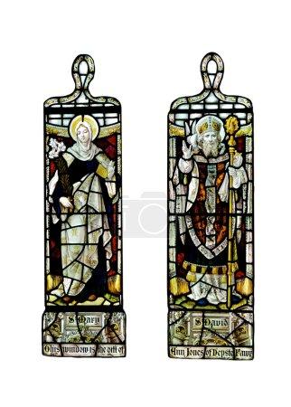 Religious stain glass windows