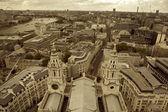 Londýn, letecký pohled na centrum města Londýn