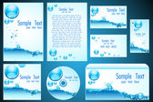 Set of Business Template