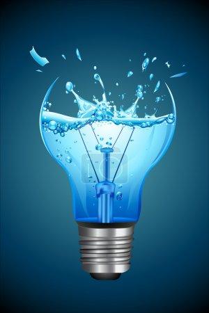 Splashing Water for Bulb