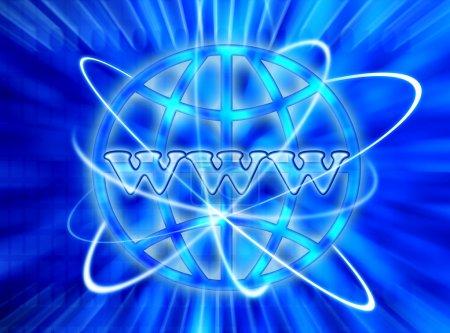 WWW internet background