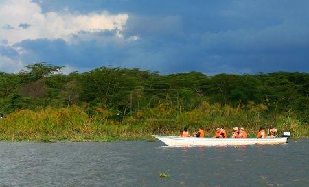 Excursion on the lake Naivasha
