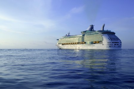 Cruise in Ibiza Island, Mediterranean sunrise