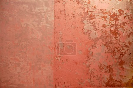 Aged grunge wall pink old paint texture