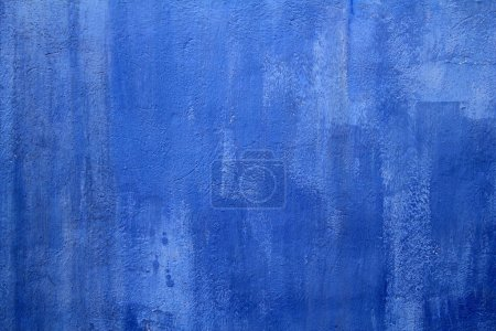 Blue wall texture grunge background