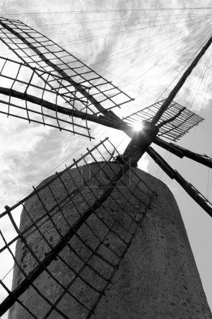 Balearic islands windmill wind mills Spain