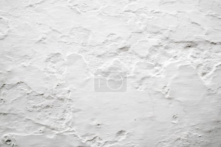 Photo for Walls with lime whitewashed background texture mediterranean architecture - Royalty Free Image