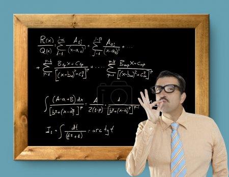 Mathematical formula genius nerd geek easy resolve