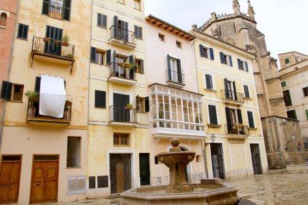 Plaza placa sant Jeroni Majorca in Palma de Mallorca