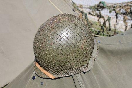 American military helmet