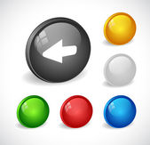 Color 3d buttons for web