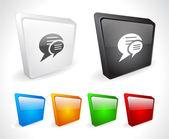 Color 3d buttons for web