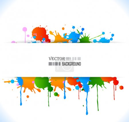 Illustration for Colour cool grunge music poster. Vector illustration. - Royalty Free Image