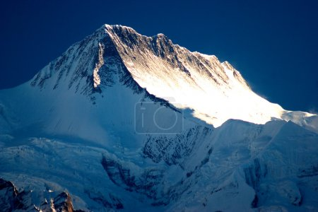 Photo for A magnificent sunrise is in Himalayas, Nepal. - Royalty Free Image