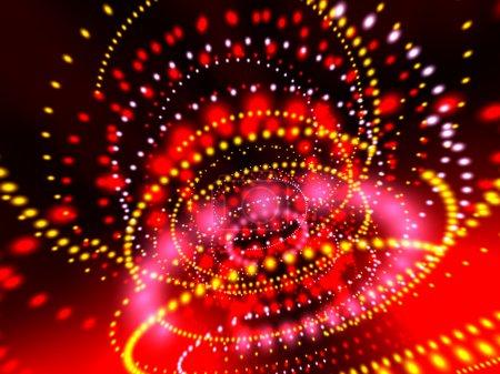 Photo pour Fond de néons lumineux - image libre de droit