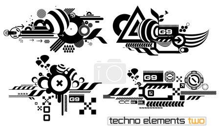 Techno elemetnts set two