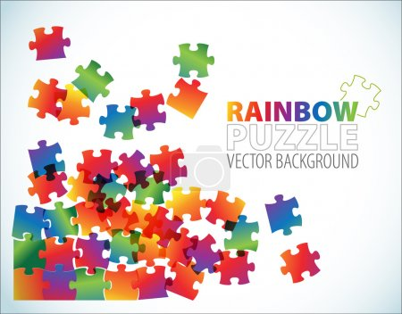 Abstract background - puzzle